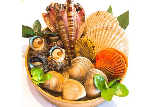 贅沢な海の幸!「糸島海鮮焼き」