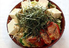 さわやか豆腐サラダ