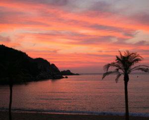 糸島の夕日
