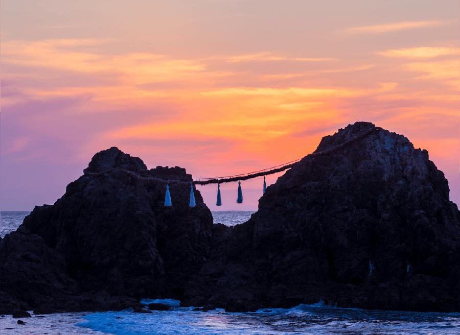 糸島夕焼け
