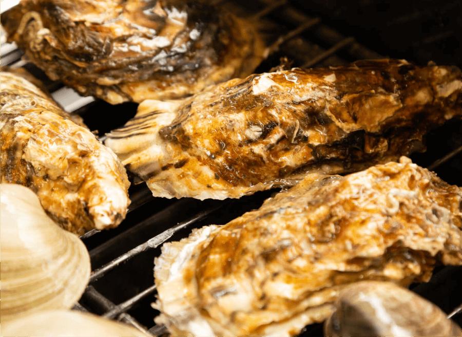牡蠣の焼き方2