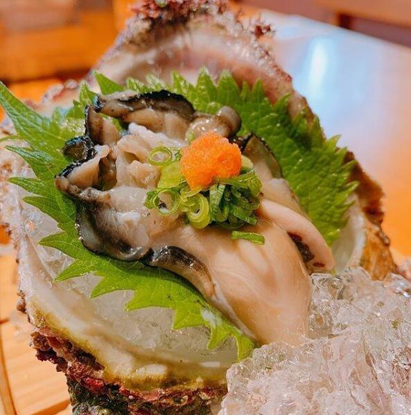 岩牡蠣刺し